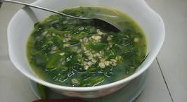 Hình ảnh món Hến nấu canh rau muống