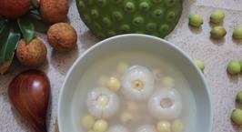 Hình ảnh món Chè vải hạt sen