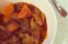 Sườn nấu đậu