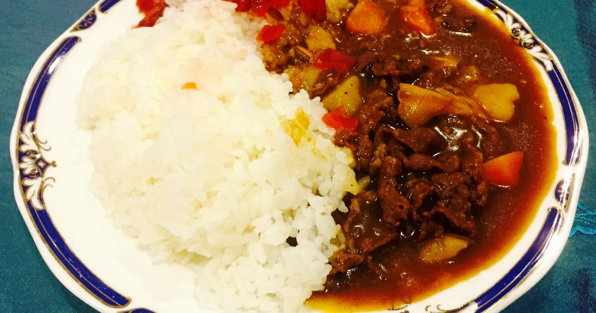 Cơm cà ri thịt bò Nhật Bản