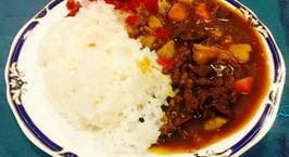 Hình ảnh món Cơm cà ri thịt bò Nhật Bản