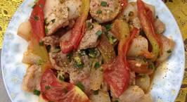 Hình ảnh món Thịt lợn xào cà chua