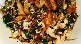Hình ảnh món Hoa chuối xào đậu , thịt