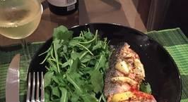Hình ảnh món Cá hồi nướng sốt chanh