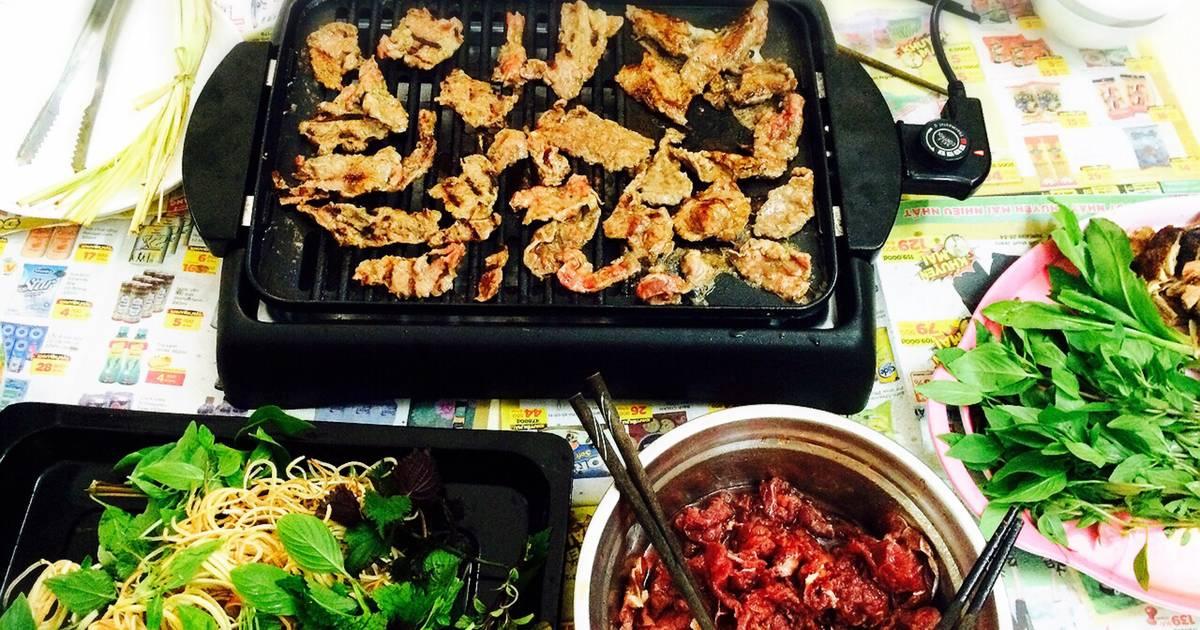 Thịt bò nướng trái vải