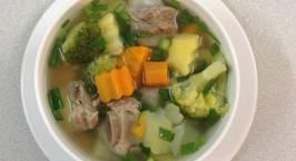 Hình ảnh món Canh súp rau