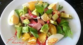 Hình ảnh món Salad Bơ thập cẩm