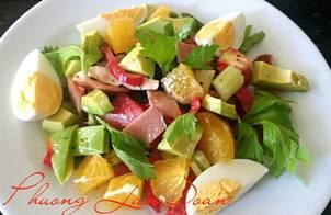 Salad Bơ thập cẩm