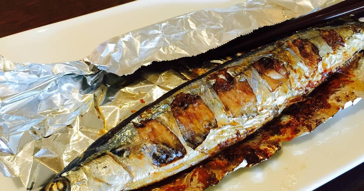 Cá sanma nướng hết sức đơn giản, thơm ngon