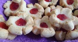 Hình ảnh món Plum Blossom Cookies( Bánh quy hoa hình hoa mận)