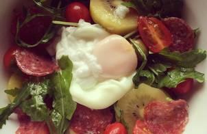 Italian salad (10 phút là xong)