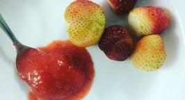 Hình ảnh món Healthy strawberry sorbet