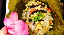 Hình ảnh món Cá diêu hồng hấp lá sen