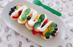 Fruit Salad with Yogurt Sauce??