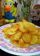 Snack khoai tây cho bé