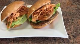 Hình ảnh món Beef teriyaki sandwich-Bánh mì bò nướng