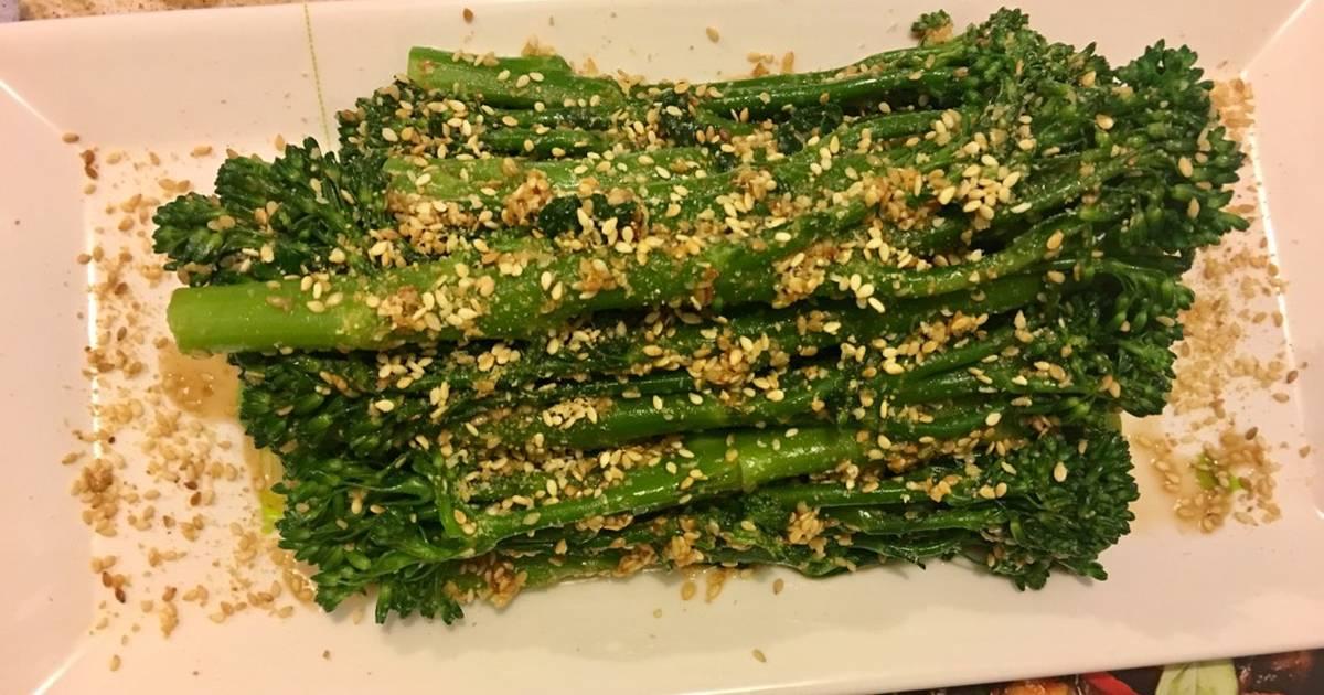 Broccoli Goma-ae (Bông cải xanh trộn sốt mè rang của Nhật)