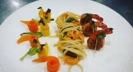 Hình ảnh món Linguine seafood sauce pesto