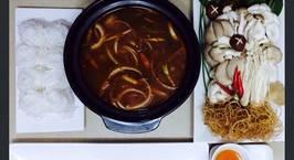 Hình ảnh món Lẩu cá tầm chua cay