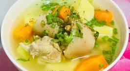 Hình ảnh món Canh Súp Nấu Với Đuôi Heo