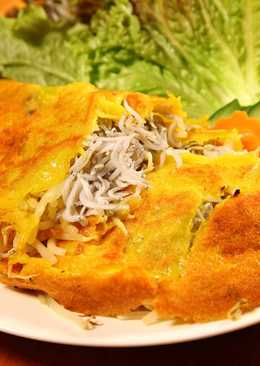 Bánh Xèo Cá Cơm Shirasu