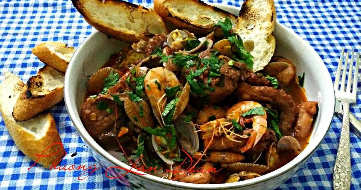Cacciucco ( súp hải sản Ý)