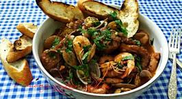 Hình ảnh món Cacciucco ( súp hải sản Ý)