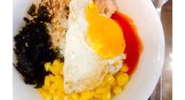 Hình ảnh món Cơm trộn cá ngừ Hàn quốc ?