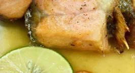 Hình ảnh món Cá hồi sốt bơ chanh trong chớp mắt ?