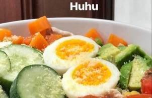 Salad ức gà giảm cân