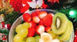 Hình ảnh món Sinh tố trái cây hỗn hợp (đông lạnh)