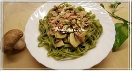 Hình ảnh món Spaghetti Carbonara champignons