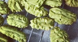 Hình ảnh món Matcha cookies (bánh quy trà xanh)