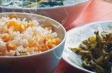 Bữa cơm đạm bạc