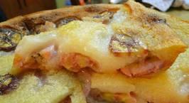 Hình ảnh món Baked banana tapioca cake - bánh chuối khoai mì nướng