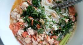 Hình ảnh món Mỳ Quảng tôm thịt phong cách mới