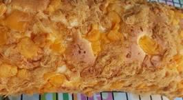 Hình ảnh món Bánh bông lan trứng muối cuộn mix sốt dầu trứng