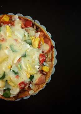 Pizza đế mỏng giòn