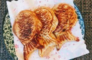 "Bánh Cá Taiyaki nhân hoa Anh Đào ""Sakura paste""?-?"