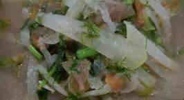 Hình ảnh món Cá trắm nấu canh chua quả chay với su hào