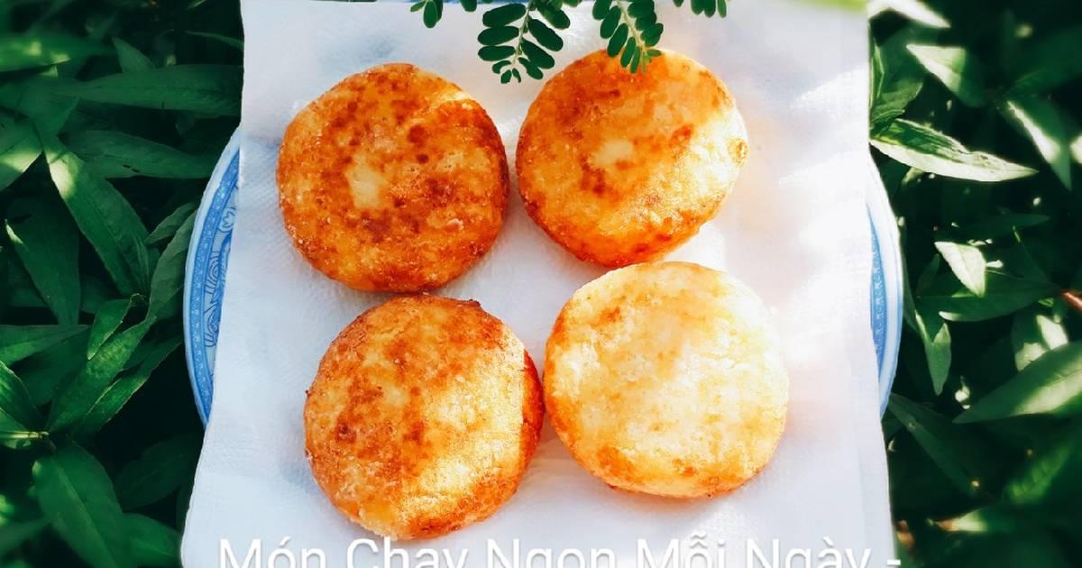 Bánh khoai tây chiên giòn nhân cà rốt chay