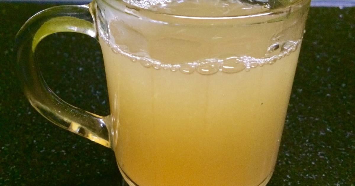 Nước gừng chanh mật ong cho người cảm cúm, đau cổ họng