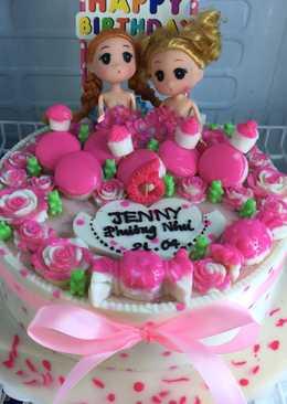 Bánh sinh nhật Rcau 4D