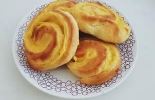 Bánh mì cuộn pudding