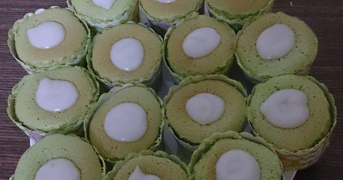 Hokkaido cupcake dứa cốt dừa