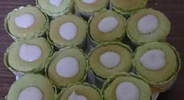 Hình ảnh món Hokkaido cupcake dứa cốt dừa
