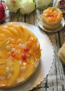 Bánh ngọt hoa quả