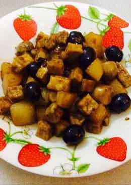 Trái Olive kho chay