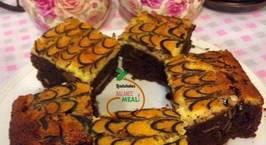 Hình ảnh món Almond Cream cheese Brownies