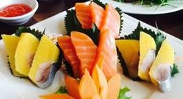 Hình ảnh món Sashimi trích hồi
